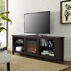 Modern Fireplace TV Stand