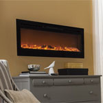 Touchstone Sideline Built-in Electric Fireplace