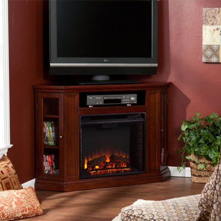 Claremont Convertible Corner Fireplace