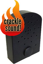 Crackle Sound for Electric Fireplaces