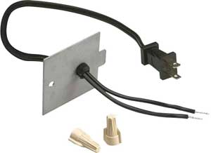 Dimplex Plug Kit to Convert a hardwire Electric Fireplace to a Plug-In Unit