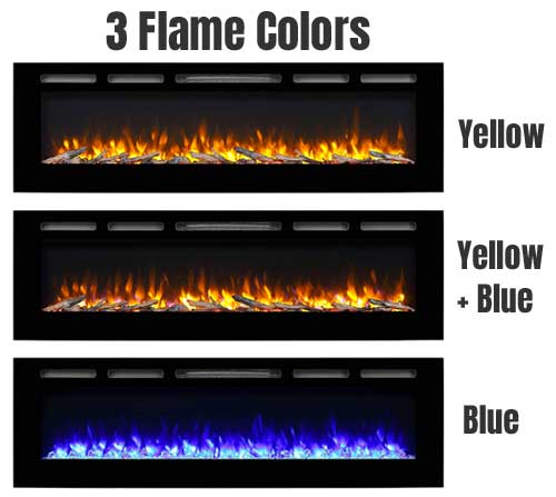 1 Color Changing Electric Fireplace Puraflame Review