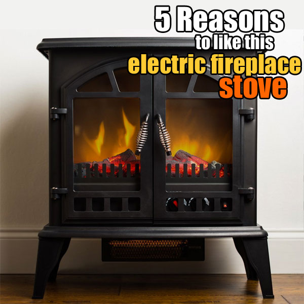 5 reasons why i like the jasper electric fireplace stove. Black Bedroom Furniture Sets. Home Design Ideas
