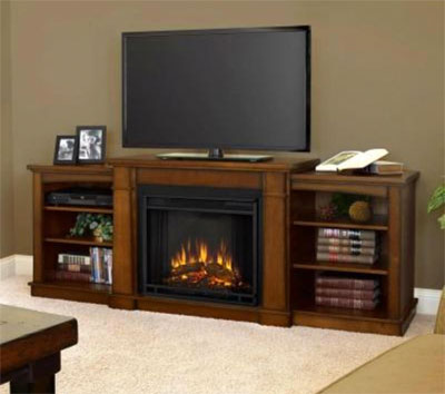 Real Flame Fireplace & Entertainment Unit