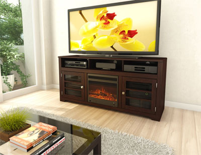 Sonax Electric Fireplace and TV Stand