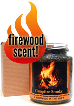 Firewood Candle