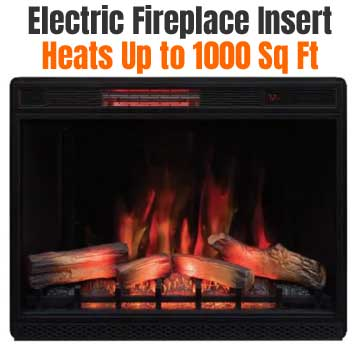 Electric Fireplace Insert, How To Pick An Electric Fireplace Insert