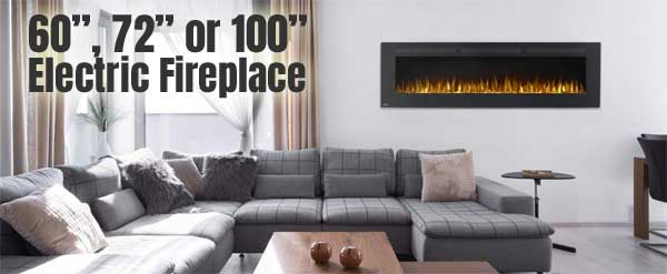 Napoleon Allure 72 Long Electric Fireplace Review