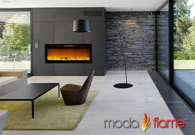 Moda Flame Cynergy Electric Wall Fireplace