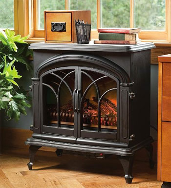 Plow and Hearth Portable Electric Fireplace
