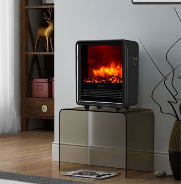 PuraFlame's #1 Energy Efficient Portable Electric Heater