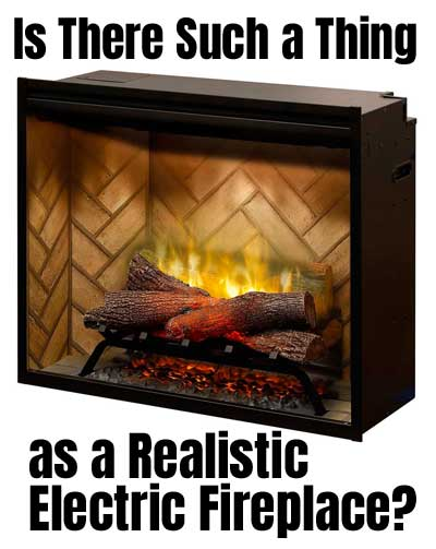 Dimplex Revillusion The Best Realistic Electric Fireplace