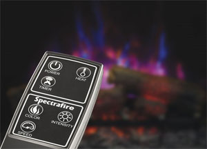 Spectrafire Remote Control for ClassicFlame Electric Fireplace