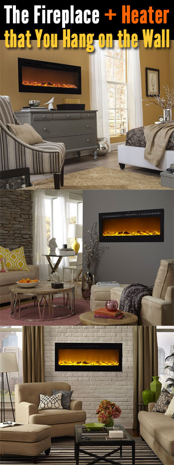 Wall Mount Electric Fireplaceu2026 Or Recessed?